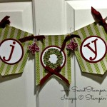 Washi Tape Christmas Banner