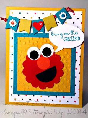 Elmo Punch Art