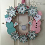 Festive Flurry Wreath
