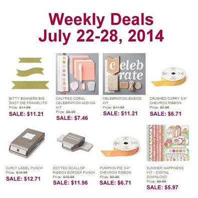 Weekly Deal July 22