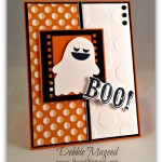 Halloween Card and Hamburger Box Set