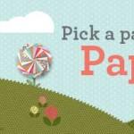 Pick a Pack of Designer Paper Starter Kit Special
