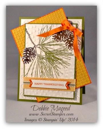 Ornamental Pine, October 2014 Paper Pumpkin