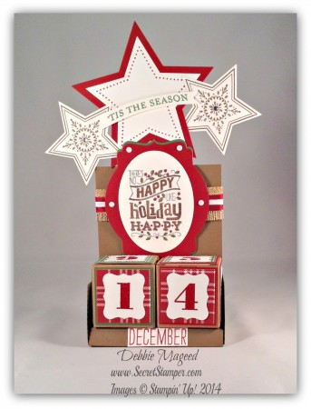 Perpetual Calendar, Christmas, Bright & Beautiful, Mingle All the Way