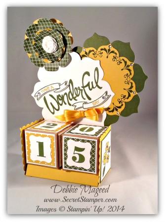 Perpetual Calendar, You're Wonderful, Floral Framelits