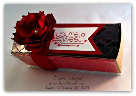 You Plus Me, Valentine, Flower Frenzy Big L, Gift Box, Happy Hearts