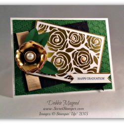By Debbie Mageed, Graduation, Artisan Embellishment Kit, Teeny Tiny Wishes, Stampin Up