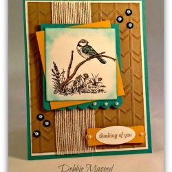 By Debbie Mageed, Moon Lake, Stampin Up