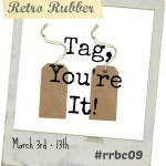 New Retro Rubber Challenge and Blog Candy Week