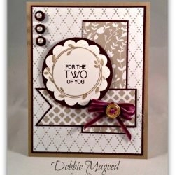 By Debbie Mageed, Your Perfect Day, Artisan Embellishment Kit, Something Borrowed, Stampin Up