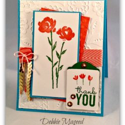 By Debbie Mageed, Painted Petals, Stampin Up
