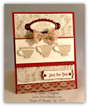 Tea Shoppe, Something Borrowed