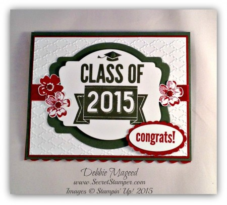 Class of 2015, Stippled Blossoms