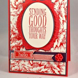 By Debbie Mageed, Stippled Blossoms, Perfect Pennants, Stampin Up