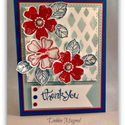 By Debbie Mageed, Birthday Blossoms, Flower Shop, Sassy Salutations, Stampin Up
