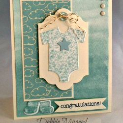 By Debbie Mageed, Something for Baby, Stampin Up
