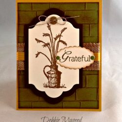 By Debbie Mageed, Always Thankful, Gratitude, Thanksgiving, Stampin Up