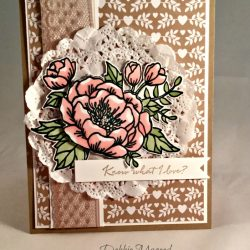 By Debbie Mageed, Birthday Blooms, What I Love, Stampin Up