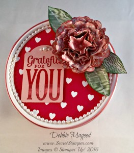Bloomin' Love, Bloomin' Heart, Merry Everything, Valentine's Day, Gift Box, Love Blossom Embellishment Kit