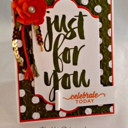 By Debbie Mageed, Botanicals for You, Botanical Builder, Birthday Bouquet, Stampin Up