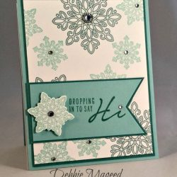 By Debbie Mageed, Flurry of Wishes, Acorny Thank You, Stampin Up