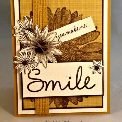 By Debbie Mageed, Grateful Bunch, Sunflower, So You, Stampin Up