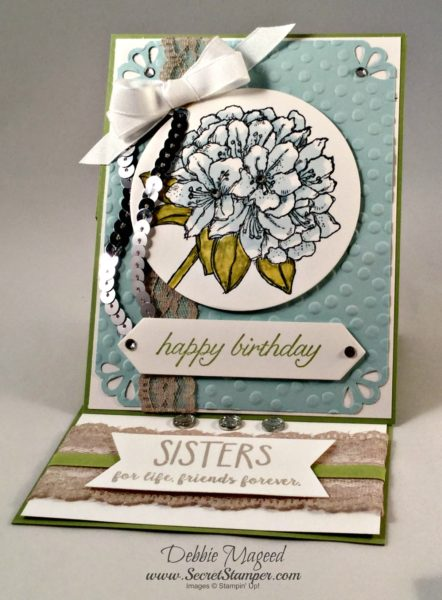 Best Thoughts, Bloomin Love, Easel Card, Stampin Up