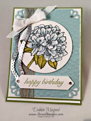Best Thoughts, Easel Card, Stampin Up