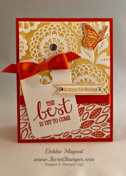 Best Thoughts, Itty Bitty Banners, Stampin Up