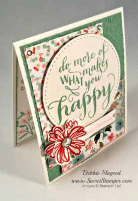 Hello Life, Teeny Tiny Wishes, Flower Shop, Stampin Up