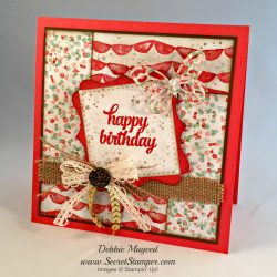 By Debbie Mageed, Tin of Cards, Remarkable You, Stampin Up