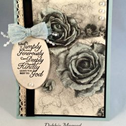 By Debbie Mageed, Trust God, Timeless Elegance, Stampin Up