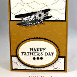 By Debbie Mageed, Sky is the Limit, Guy Greetings, Father's Day, Masculine, Stampin Up