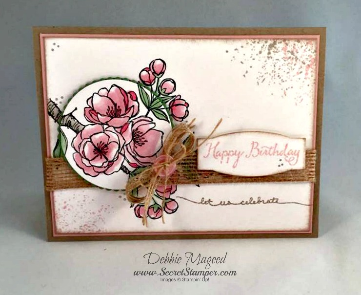 Stampin Up Balloon Celebration And Indescribable Gift