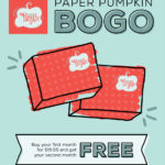 Stampin' Up! Paper Pumpkin BOGO and a Gift from Me