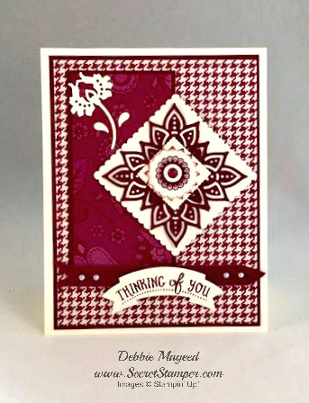 Paisleys & Posies, Paisley Framelits, Stampin Up
