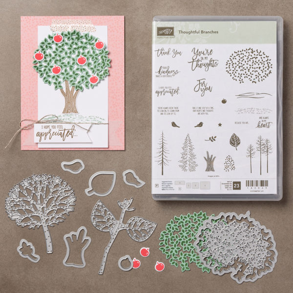 thoughful branches, Stampin Up