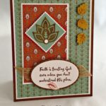 Stampin' Up! Artistically Asian Paisleys & Posies Sympathy Card
