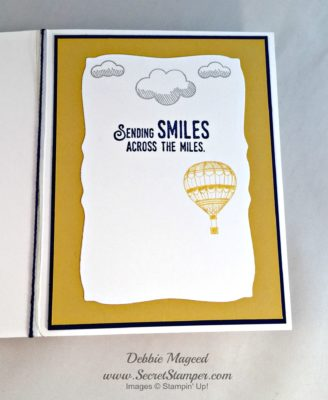 By Debbie Mageed, Lift Me Up, Up & Away, Stampin Up