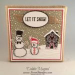 Calm Christmas Wishes for Stampin' Up! Snow Place
