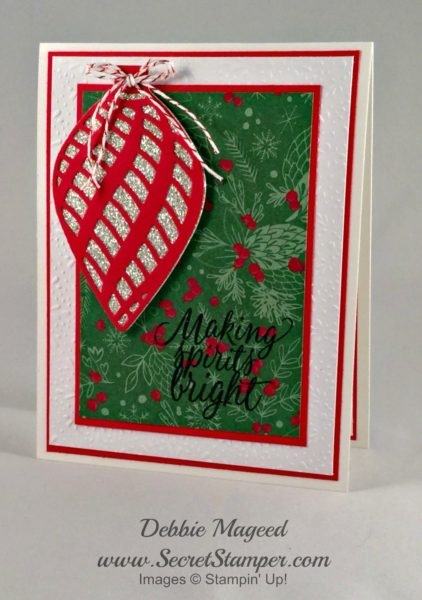 Tin of Tags, Delicate Ornament Thinlits, Holiday, Christmas, Stampin Up