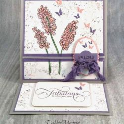 By Debbie Mageed, Helping Me Grow, Bloomin' Love, Timeless Texture, Million & One, Easel Card, Stampin Up