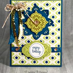 By Debbie Mageed, Eastern Beauty, Eastern Palace, Stampin Up