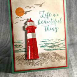 By Debbie Mageed, High Tide, Colorful Seasons, Beautiful You, Masculine, Stampin Up