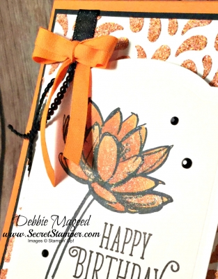 By Debbie Mageed, Remarkable You, Ribbon of Courage, Happy Birthday Gorgeous, Birthday, Autumn, Embossing Paste, Stampin Up