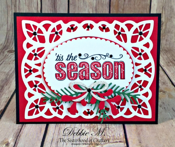 By Debbie Mageed, Merry Patterns, Christmas, Holiday, Stampin Up