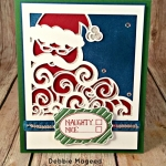 Detailed Santa Thinlits Paired with Very Merry Tags and Snowflake Sentiments