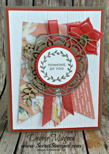 By Debbie Mageed, Lots of Love, Lovely Wishes, Morrocan Nights, Eastern Medalliions, Stampin Up