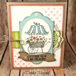 Friendship's Sweetest Thoughts Birthday Card for Hand Stamped Sentiments