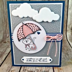 Sweet Friendship Card Featuring #Pretty Kitty, #WeatherTogether, #LovelyInside&Out, #SecretsToStamping, #StampinUp